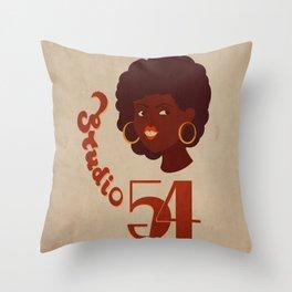 studio 54 Throw Pillow