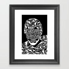 Oscar Grant - Black Lives Matter - Series - Black Voices Framed Art Print