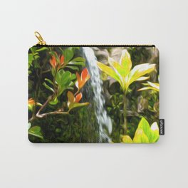 Hawaiian Waterfall Carry-All Pouch