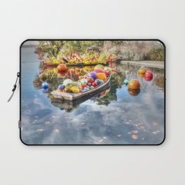 Floating Glass Laptop Sleeve