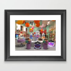 Candy Shop Still Life Framed Art Print