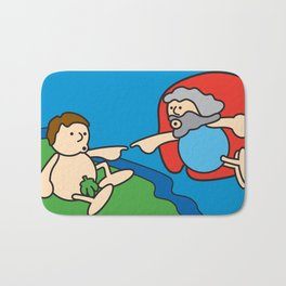 Ooh Zoo – art-series, Michelangelo Bath Mat