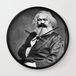 Karl Marx Wall Clock