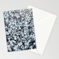 untitled (4456 bklack and white) Stationery Cards