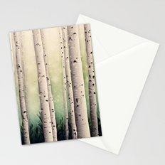 Birch wood at Midsummer Stationery Cards