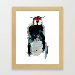 Poor Impulse Control Great Minded Brained Twins Framed Art Print