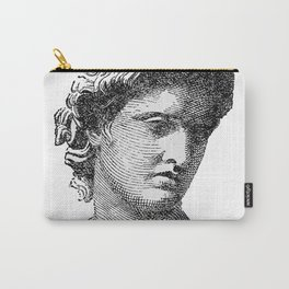 Portrait of Apollo Belvedere Carry-All Pouch