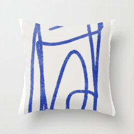 Line of thought 3 Throw Pillow