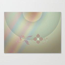 Copper blossom Canvas Print