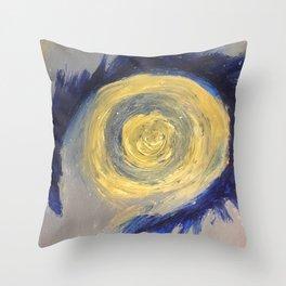 Eye of the vortex Throw Pillow