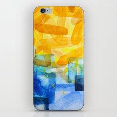 Sunburst Watercolor iPhone & iPod Skin