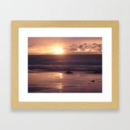 Broome Sunset Framed Art Print