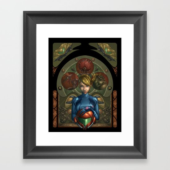 My Past is not a Memory Framed Art Print