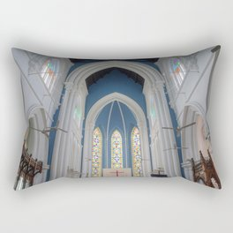 St Andrews Cathedral Singapore Rectangular Pillow