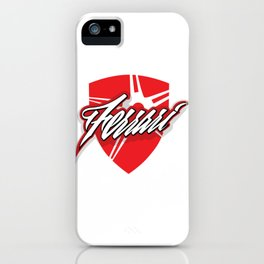 Red star shield iPhone Case
