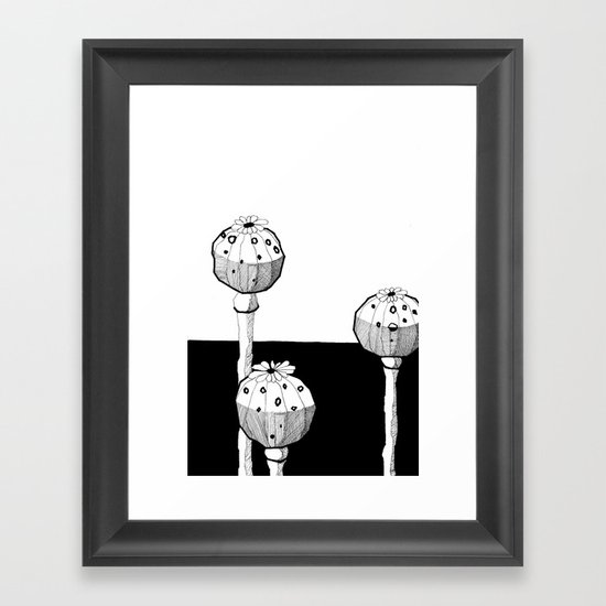 STATE OF INTOXICATION Framed Art Print