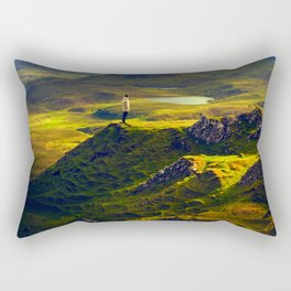 The Mountain Men at Isle Of Skye Rectangular Pillow