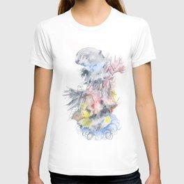 141203 Abstract Watercolor Block 70 T-shirt