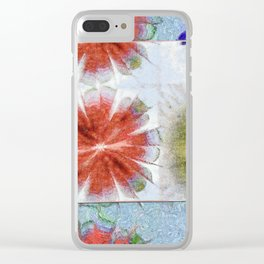 Uncrazy Peeled Flowers  ID:16165-053051-02651 Clear iPhone Case