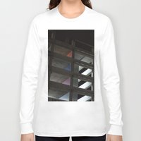 grid Long Sleeve T-shirts featuring grid by jared smith