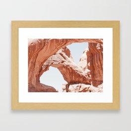 Desert Arches Framed Art Print