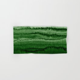 WITHIN THE TIDES FOREST GREEN by Monika Strigel Hand & Bath Towel