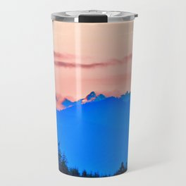 The Cascading Mountain Range Travel Mug