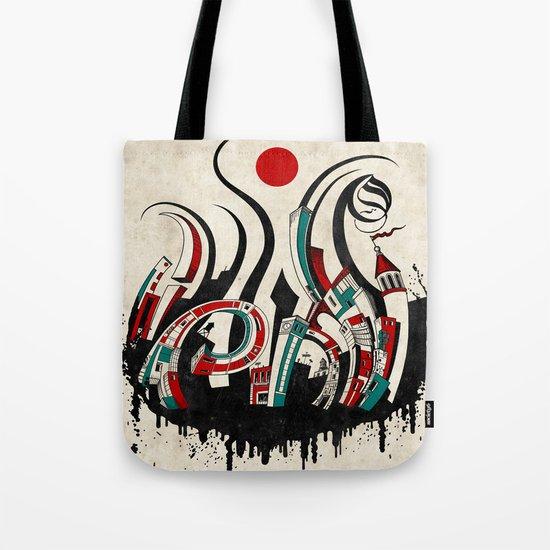 Urban Chaos Tote Bag