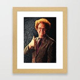 Dr. Steve Brule Framed Art Print