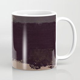 Keyhole Paint Stripes Coffee Mug