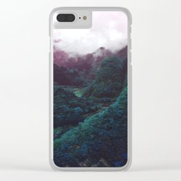 Hometown Valley ~Keikoku~ Clear iPhone Case