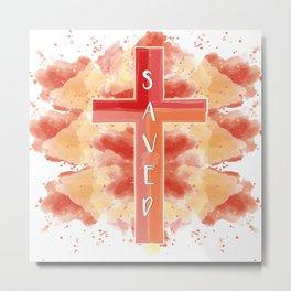 Saved Metal Print
