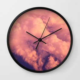 Cloudscape II Wall Clock