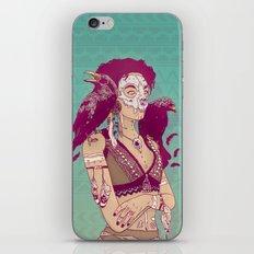Raven Lady iPhone Skin