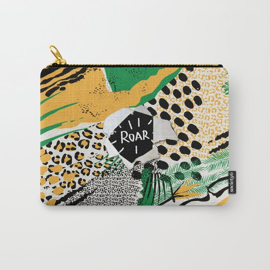ROAR (wild cats) Carry-All Pouch