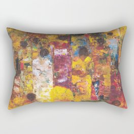 Procession Rectangular Pillow