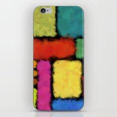 Tracks of colors iPhone & iPod Skin