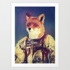 Star Fox Art Print