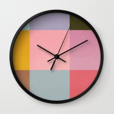 Distressed Cube Wall Clock
