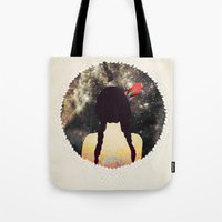 stargate Tote Bags featuring STARGATE by Nika
