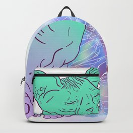 Cat With Crystals Sketch Backpack