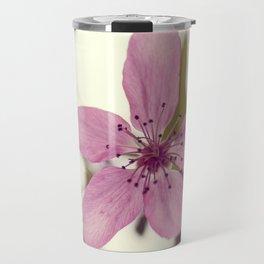 Pink blooming tree Travel Mug