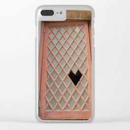 Broken [heart] Window Clear iPhone Case