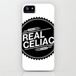 Real Celiac iPhone Case