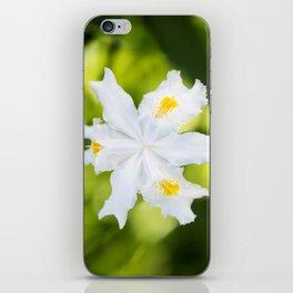 Japanese Roof Iris iPhone Skin