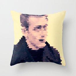 JAMES D Throw Pillow