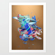 Colour Form & Expression #3 Art Print