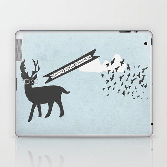 {What the flock} Laptop & iPad Skin