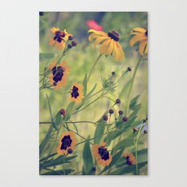 Golden Garden Canvas Print