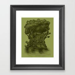 Atlas Framed Art Print